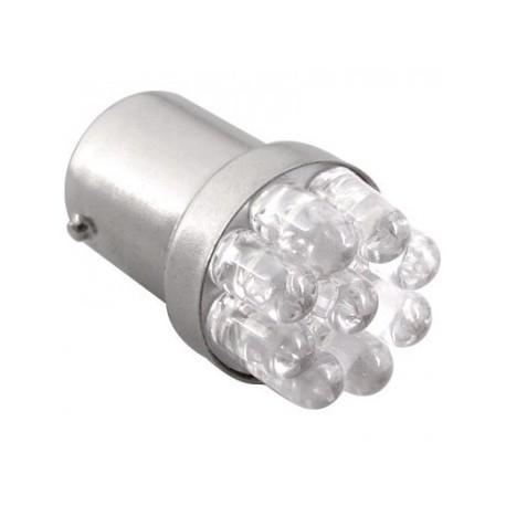 Ampoule R5W BA15S 9 Leds rondes 24 volts non polarisée