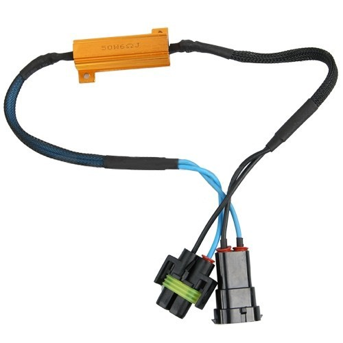 Résistance anti-erreur pour ampoule H11 12 volts