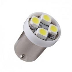 Ampoule led T4W-BA9S 4 leds non polarisée