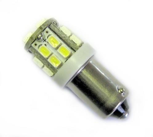 Ampoule T4W BA9S 20 leds blanches non polarisée