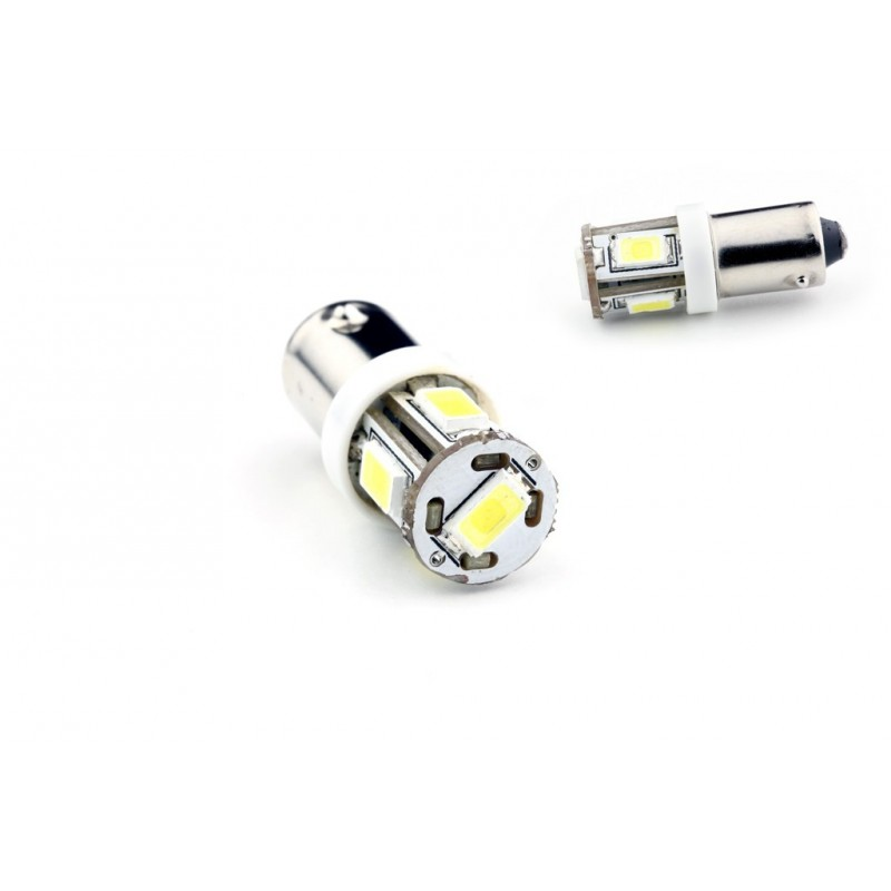 ampoule t4w ba9s 5 leds blanches 5630 led effect. Black Bedroom Furniture Sets. Home Design Ideas