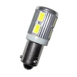 Ampoule led H21W BAY9S 10 leds 9 à 30 volts